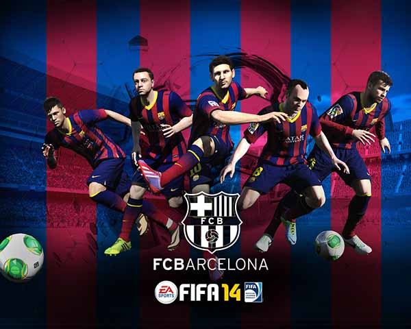 FIFA 14 Barcelona Wallpaper