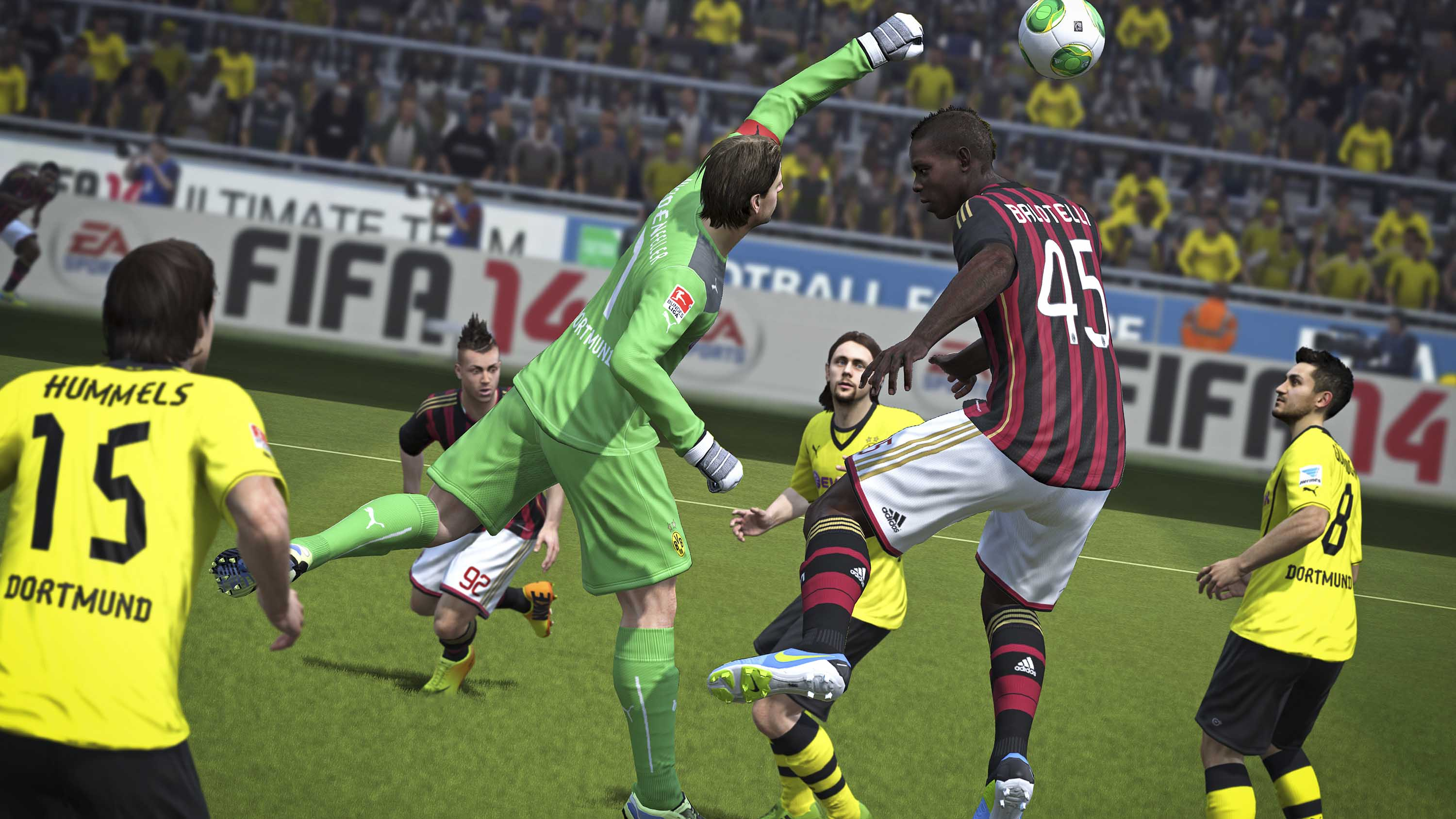 More hd fifa 14 screenshots from the gamescom 2013 voltagebd Image collections