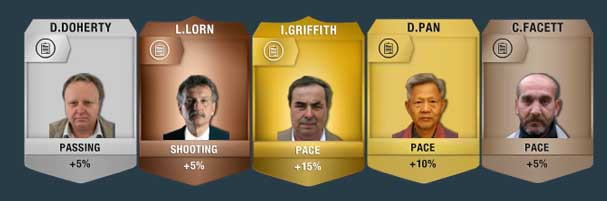 FIFA 14 Ultimate Team Staff - Manager Example