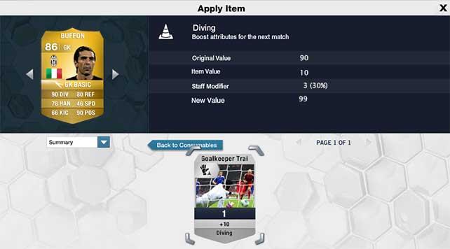 Staff em FIFA 14 Ultimate Team - Treinadores de Guarda-redes