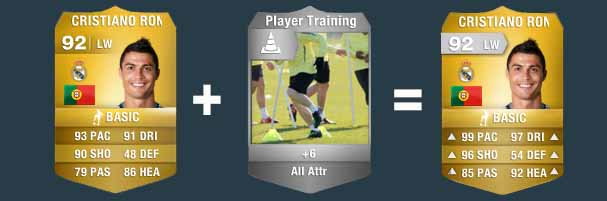 FIFA 14 Ultimate Team Consumables - Training Cards
