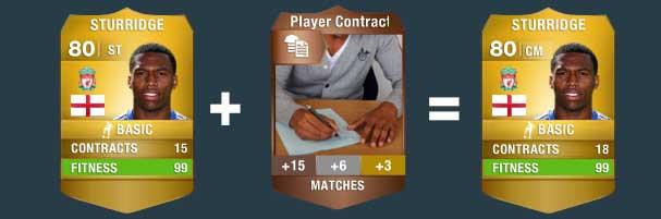 Guia de Consumíveis para FIFA 14 Ultimate Team - Tudo sobre Cartas de Desenvolvimento