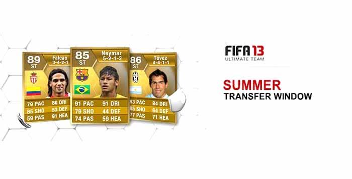 Fifa 13 Ultimate Team Summer Transfers Complete List