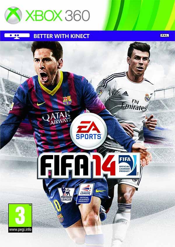 Capas de FIFA 14 para o Reino Unido e Médio Oriente