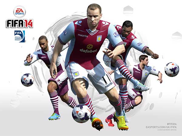 FIFA 14 Aston Villa Wallpaper