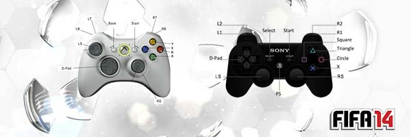 FIFA 14 Controls - The PS3 and XBox 360 Controls to Play FIFA 14