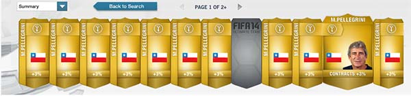 FIFA 14 Ultimate Team Price Fixing
