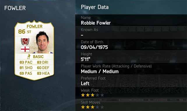 FUT 14 Robbie Fowler
