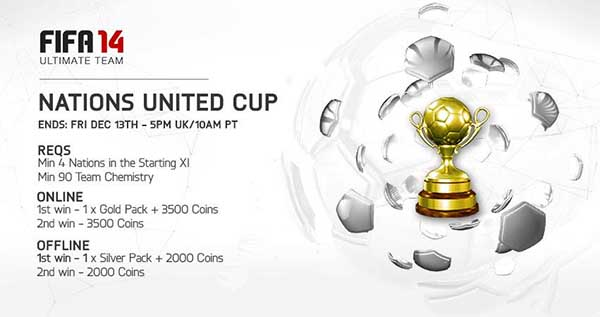 All the FIFA 14 Ultimate Team Tournaments - Fixed and Featured Tournaments
