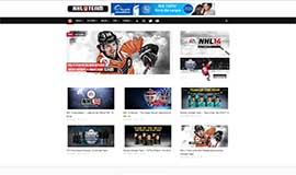 NHL U Team Website