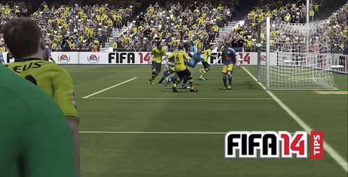 FIFA 14 Tips: How to Defend Corners in FIFA 14