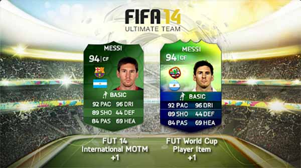 Novas cartas verdes iMOTM em FIFA 14 Ultimate Team