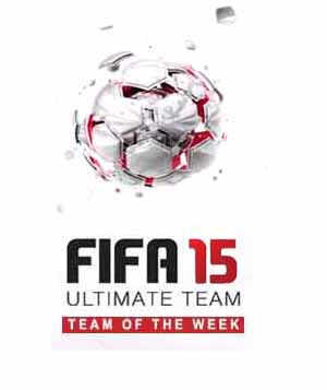 TOTW of FIFA 15 Ultimate Team