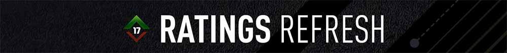 FIFA 17 Ratings Refresh