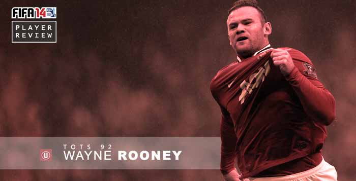 FUT 14 Players Review: TOTS Wayne Rooney 92