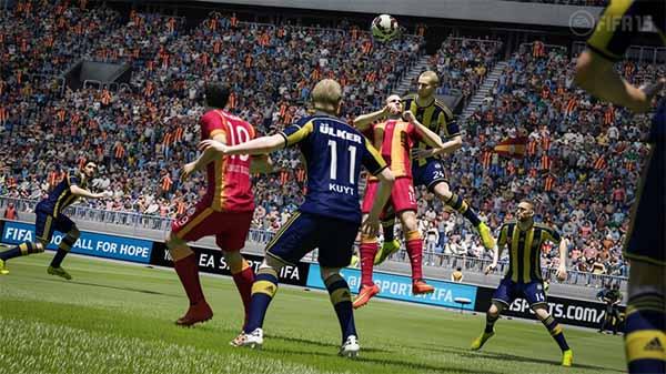 Imagens oficiais de FIFA 15