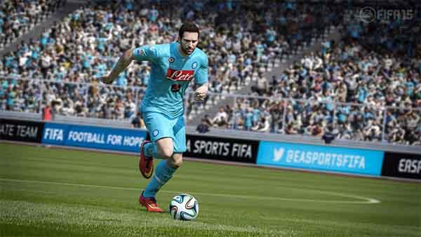 Novas imagens oficiais de FIFA 15