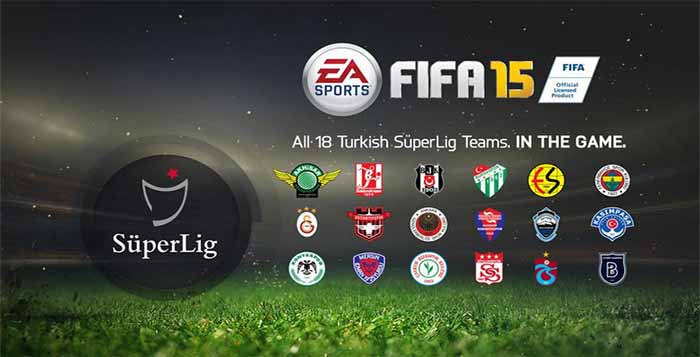 Turkish Super Lig is fully licensed in FIFA 15