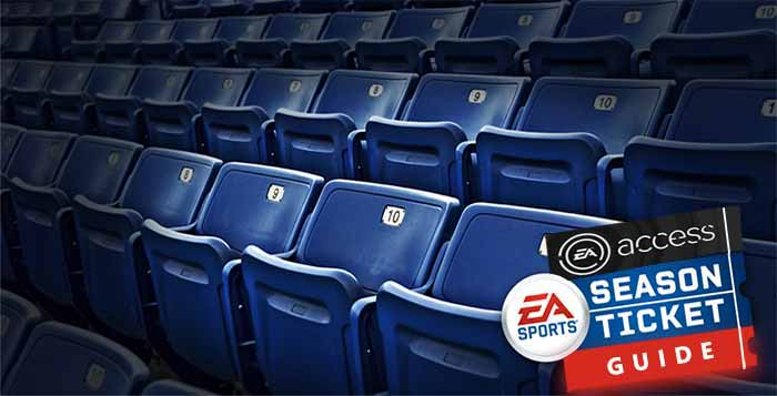 Season Ticket and EA Access Guide for FIFA 15 Ultimate Team