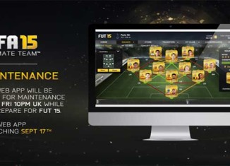 FUT 15 Web App Release Date was unveiled