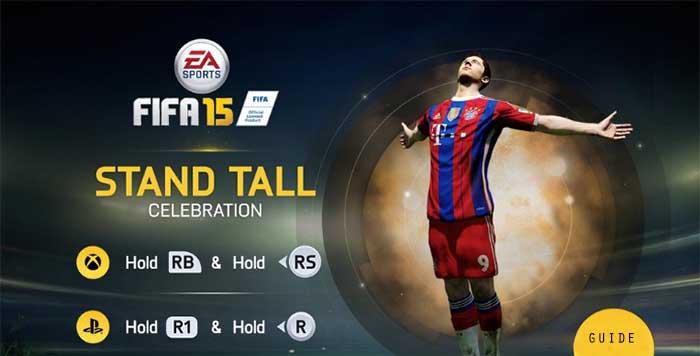 Guia de Celebrações de FIFA 15