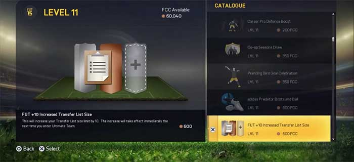 Guia do Catálogo EAS FC para FIFA 15 Ultimate Team