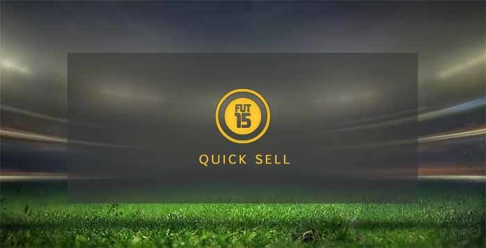 FIFA 15 Ultimate Team Quick Sell Values