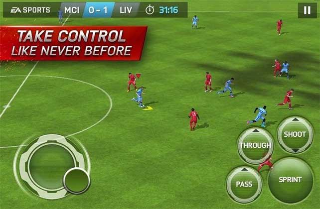 FIFA 15 Ultimate Team para iOS, Android e Windows Phone