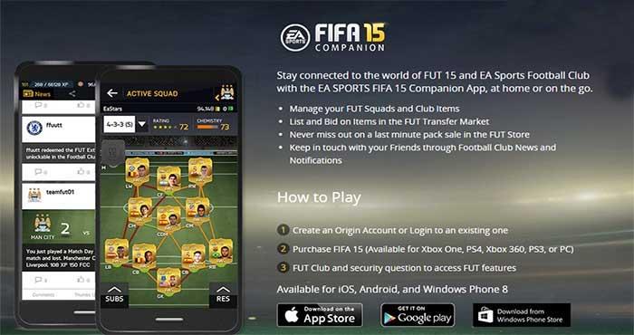 dk fifa features companion app