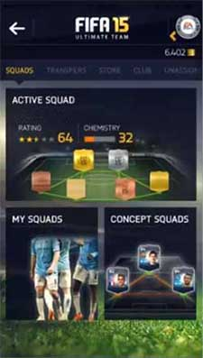 FIFA 15 Companion App for iOS, Android and Windows Phone