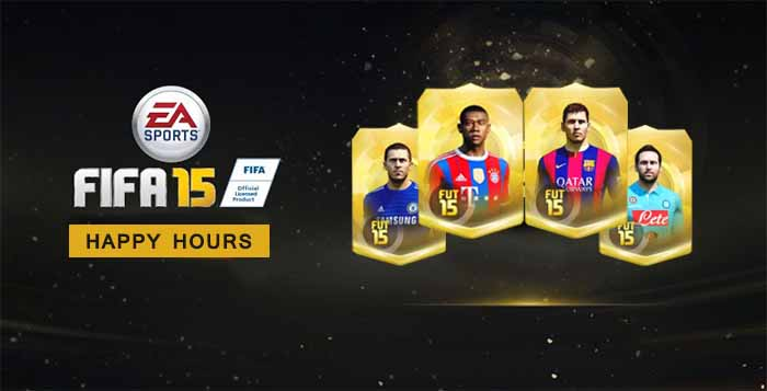 Complete List of FIFA 15 Ultimate Team Happy Hours