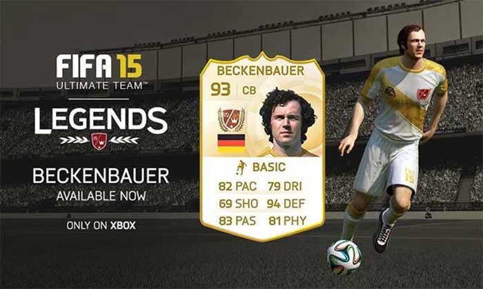 Datas de Lançamento das Novas Lendas de FIFA 15 Ultimate Team