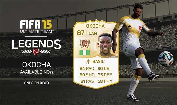 Datas de Lançamento das Lendas de FIFA 15 Ultimate Team