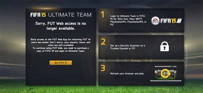 FIFA 15 Ultimate Team Help: Troubleshooting Guide to Known Issues