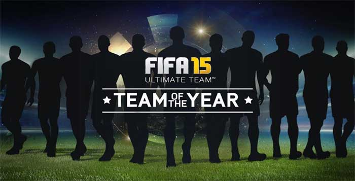 TOTY of FIFA 15 Ultimate Team - The Best Players of 2014