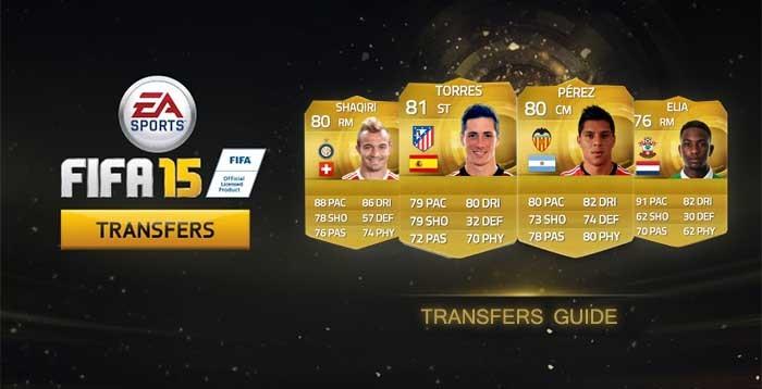 FIFA 15 Ultimate Team Winter Transfers: Eight Batch