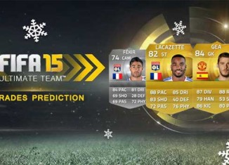 FIFA 15 Winter Upgrades Prediction - Players Shortlist