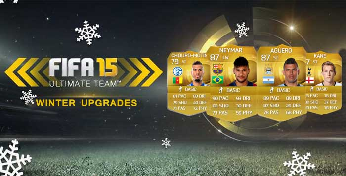 List of the FIFA 15 Ultimate Team Winter Upgraded Players Cards