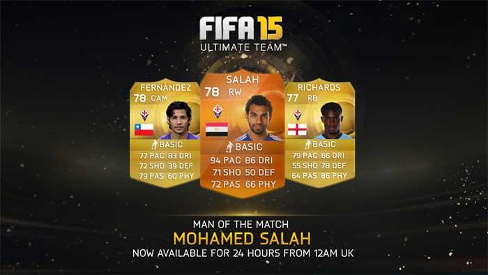 Complete list of fifa 15 ultimate team motm cards