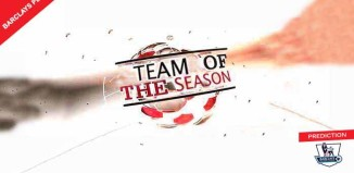 Barclays PL Team of the Season Prediction of FIFA 15
