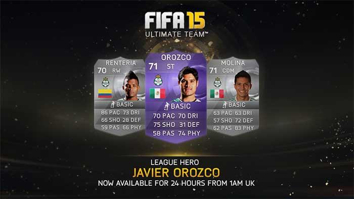 Cartas Roxas IF - Todos os Heróis de FIFA 15 Ultimate Team