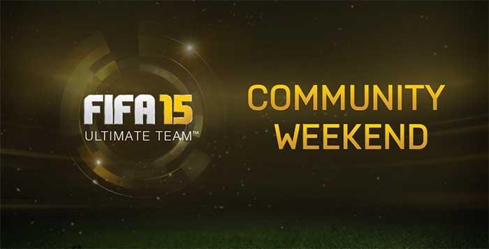 FIFA 15 Ultimate Team Community Weekend
