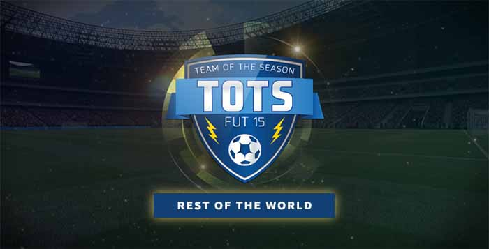 FIFA 15 Ultimate Team Rest of the World TOTS