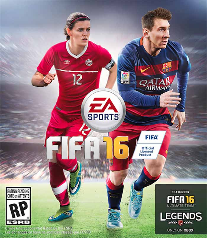 EA Sports FIFA 16 - Christine Sinclair