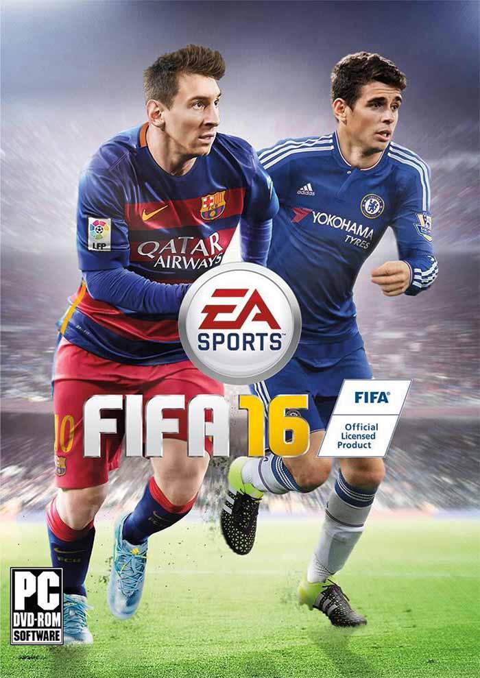 Portadas de FIFA 16 - Óscar