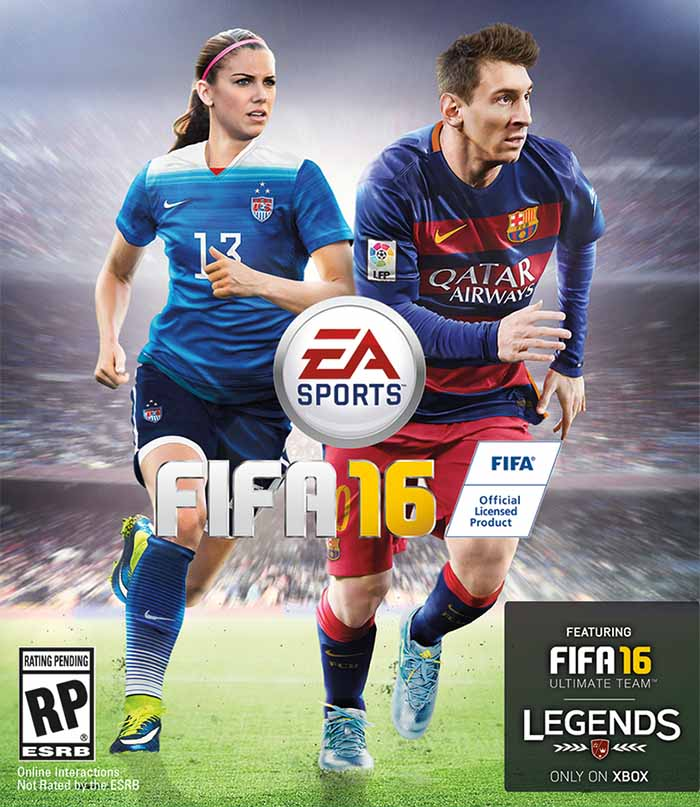 EA Sports FIFA 16 - Alex Morgan