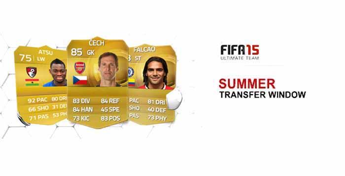 List of FIFA 15 Ultimate Team Summer Transfers