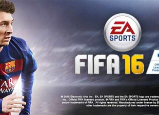 The Official Global FIFA 16 Cover