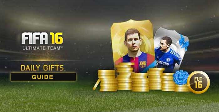 FIFA 16 Ultimate Team Daily Gifts Guide