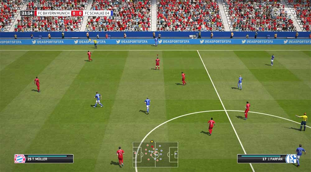 fifa 16 screenshots all the official fifa 16 images. Black Bedroom Furniture Sets. Home Design Ideas